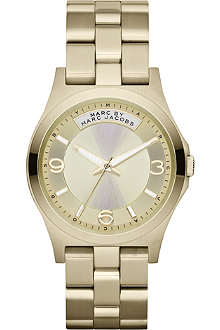 MARC BY MARC JACOBS MBM3231 Baby Dave gold-toned stainless steel watch