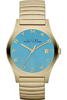 MARC BY MARC JACOBS MBM3237 Henry gold-toned stainless steel watch