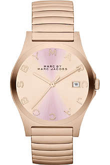 MARC BY MARC JACOBS MBM3238 Henry rose gold-toned stainless steel watch