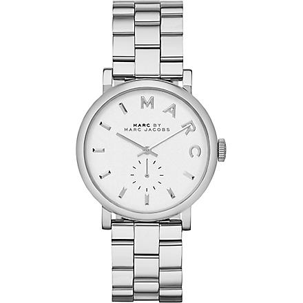 MARC BY MARC JACOBS MBM3242 Baker stainless steel watch (White