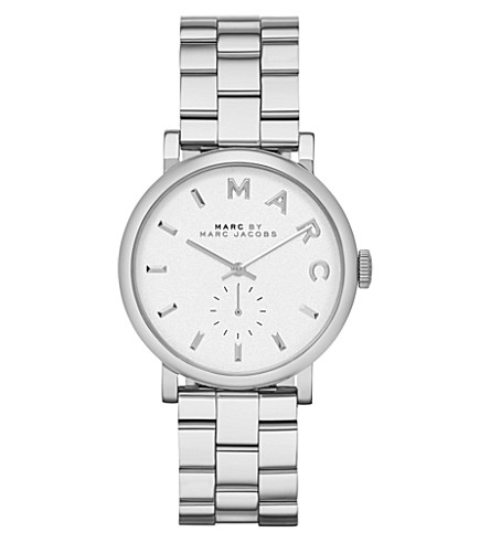 MARC JACOBS MBM3242 Baker stainless steel watch (White
