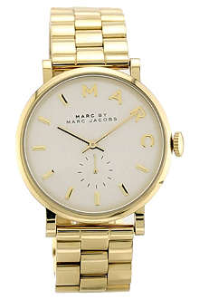 MARC BY MARC JACOBS MBM3243 Baker gold-toned stainless steel watch