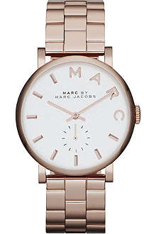 MARC BY MARC JACOBS MBM3244 Baker rose-gold stainless steel watch