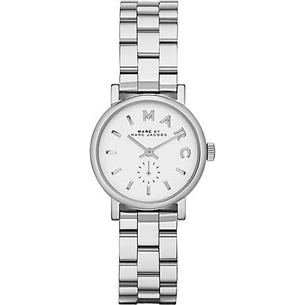 MARC BY MARC JACOBS MBM3246 Baker mini stainless steel watch 2.8cm (White
