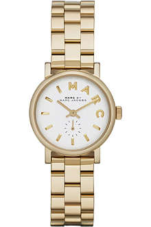 MARC BY MARC JACOBS MBM3247 Baker mini gold-toned stainless steel watch 2.8cm