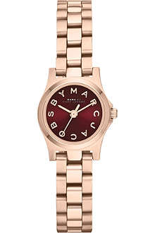 MARC BY MARC JACOBS MBM3256 Henry Dinky mini rose gold-toned watch