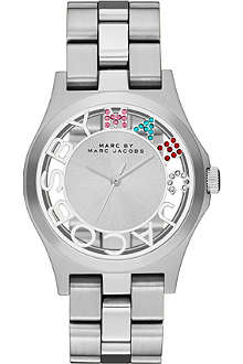 MARC BY MARC JACOBS MBM3262 Henry Skeleton stainless steel watch