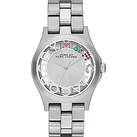 MARC BY MARC JACOBS MBM3262 Henry Skeleton stainless steel watch (Silver