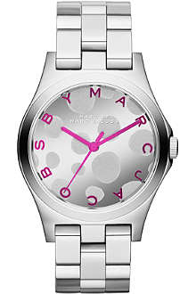 MARC BY MARC JACOBS MBM3266 Henry Glossy stainless steel watch