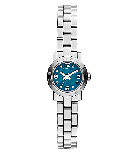MARC BY MARC JACOBS Amy dinky stainless steel watch (Green