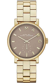 MARC BY MARC JACOBS MBM3281 Baker mini stainless steel watch 2.8cm