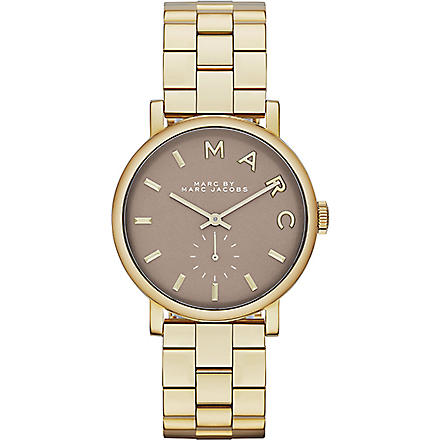 MARC BY MARC JACOBS MBM3281 Baker mini stainless steel watch 2.8cm (Grey