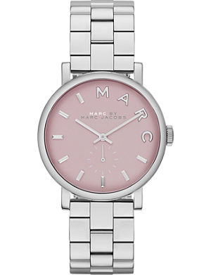 MARC BY MARC JACOBS MBM3283 Baker mini stainless steel watch 2.8cm