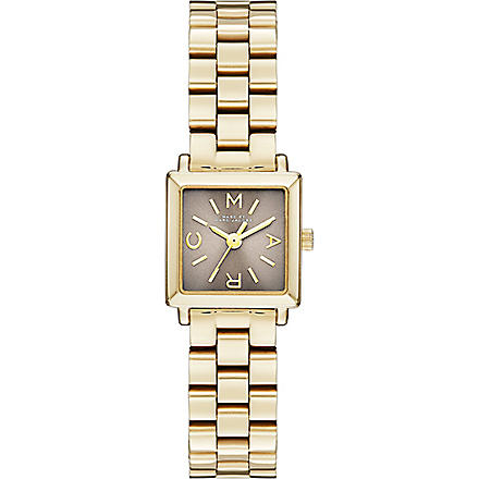 MARC BY MARC JACOBS MBM3287 Katherine mini gold-tone stainless steel watch (Grey
