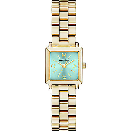 MARC BY MARC JACOBS MBM3289 Katherine mini gold-tone stainless steel watch (Green