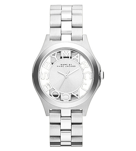 MARC JACOBS MBM3291 Henry stainless steel watch (Silver