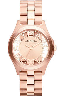 MARC BY MARC JACOBS MBM3293 Henry rose gold-toned stainless steel watch