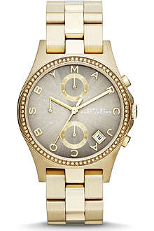 MARC BY MARC JACOBS MBM3298 gold-toned watch