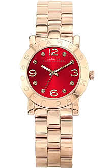 MARC BY MARC JACOBS Mbm3305 red dial female watch