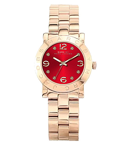 MARC JACOBS Mbm3305 red dial female watch (Red