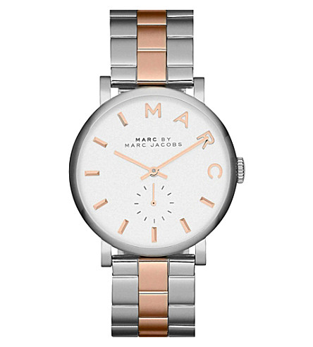 MARC BY MARC JACOBS Mbm3312 white dial ladies watch (White