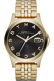 MARC BY MARC JACOBS MBM3315 The Slim gold-toned PVD watch