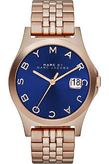 MARC BY MARC JACOBS MBM3316 The Slim rose gold-toned PVD watch