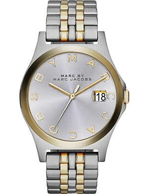 MARC BY MARC JACOBS MBM3319 The Slim stainless steel and gold-toned plated watch