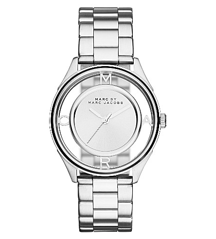 MARC JACOBS MBM3412 Tether stainless steel watch (Silver
