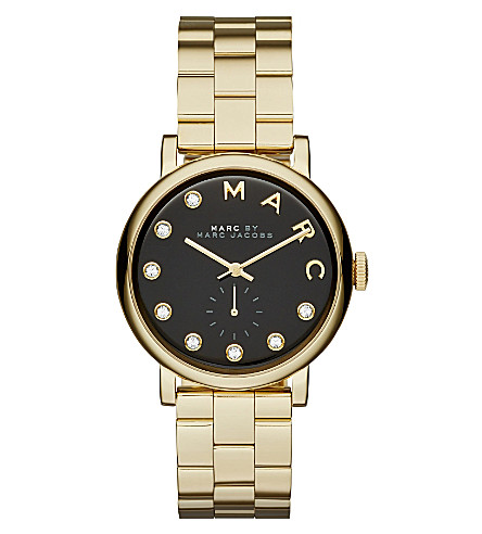 MARC JACOBS MBM3421 Baker Dexter stainless steel watch (Black