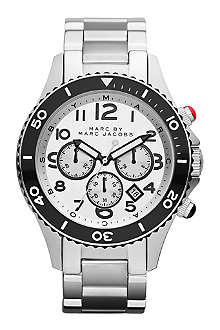 MARC BY MARC JACOBS MBM5027 Rock Chrono steel watch