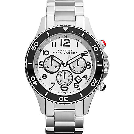 MARC BY MARC JACOBS MBM5027 Rock Chrono steel watch (Silver