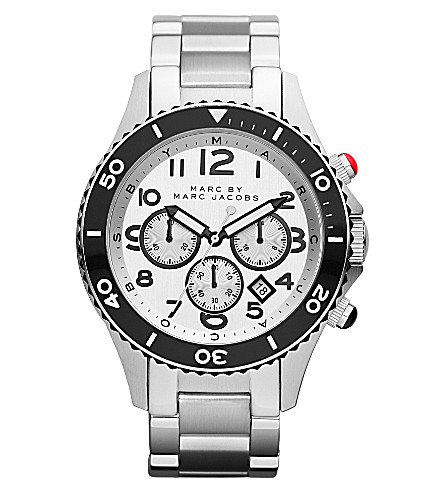 MARC BY MARC JACOBS MBM5027 Rock Chrono steel watch (Silver