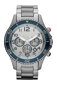 MARC BY MARC JACOBS MBM5028 Metal Rock Chrono steel watch