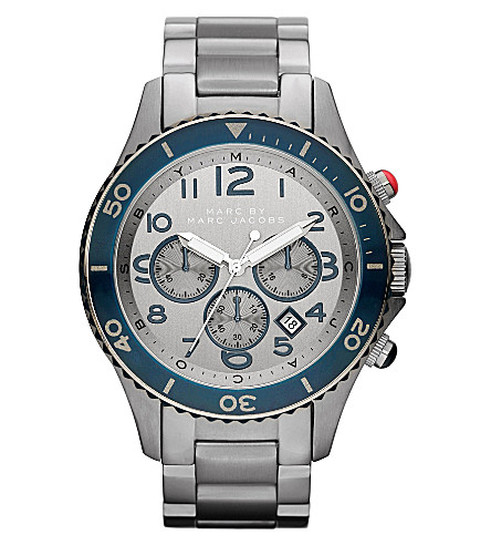MARC BY MARC JACOBS MBM5028 Metal Rock Chrono steel watch (Silver