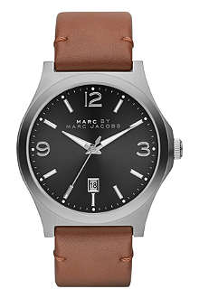 MARC BY MARC JACOBS MBM5039 Danny brown leather watch