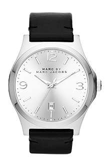MARC BY MARC JACOBS MBM5040 Danny black leather watch