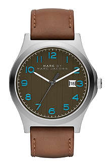 MARC BY MARC JACOBS MBM5047 Jimmy brown leather watch