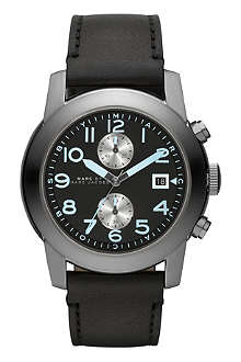 MARC BY MARC JACOBS MBM5054 Larry black leather watch