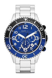 MARC BY MARC JACOBS MBM5055 Metal Rock Chrono steel watch