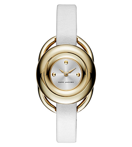 MARC JACOBS MJ1446 jerrie rose and silver watch