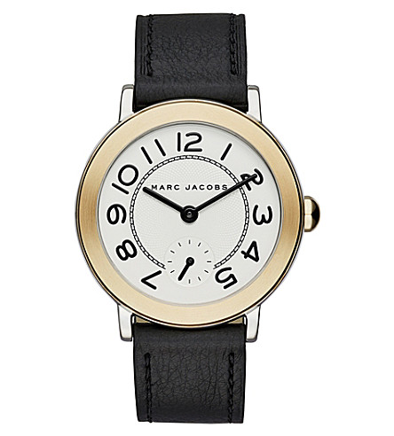MARC JACOBS MJ1514 The Riley leather watch