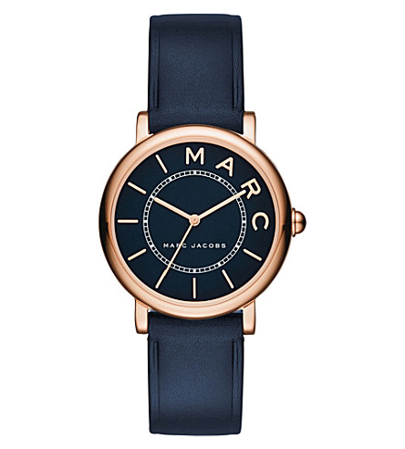 MARC JACOBS MJ1539 Roxy stainless steel and leather watch