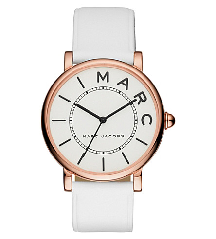 MARC JACOBS Roxy rose-gold watch