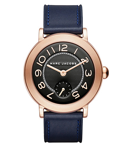 MARC JACOBS MJ1575 The Riley leather watch