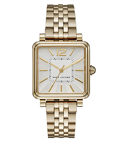 MARC JACOBS MJ3462 Vic stainless steel rose-gold plated quartz watch