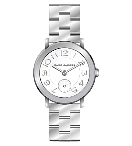 MARC JACOBS Riley mj3469 stainless steel watch (White