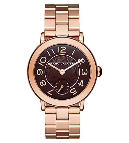 MARC JACOBS Marc Jacobs Riley Rose Gold Bracelet 36MM