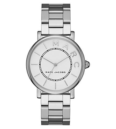 MARC JACOBS Roxy silver-tone watch