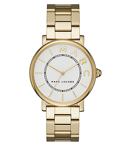 MARC JACOBS Roxy gold watch